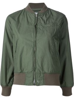 Cropped Bomber Jacket Engineered Garments                                                                                                              зелёный цвет