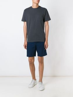 Chest Pocket T-Shirt Sunspel                                                                                                              серый цвет