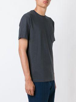 Chest Pocket T-Shirt Sunspel                                                                                                              серый цвет