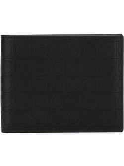 Бумажник Gancino Salvatore Ferragamo                                                                                                              черный цвет
