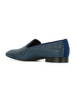Декорированные Слиперы Louis Leeman                                                                                                              синий цвет