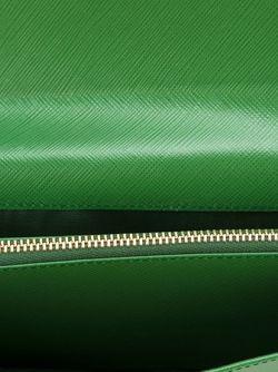 Кошелек С Откидным Клапаном Gancini Salvatore Ferragamo                                                                                                              зелёный цвет