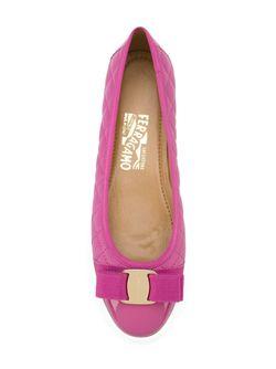 Балетки Rufina Salvatore Ferragamo                                                                                                              розовый цвет