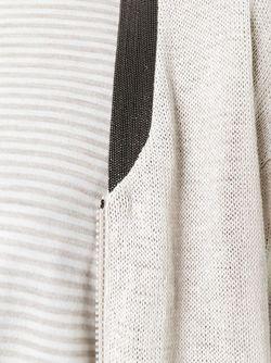 Zipped Cardigan Brunello Cucinelli                                                                                                              Nude & Neutrals цвет