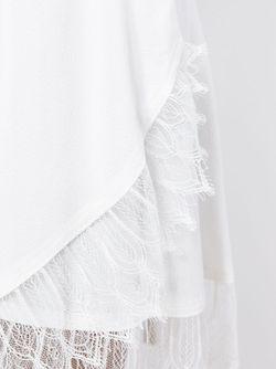 Юбка Мини Nicole Iro                                                                                                              белый цвет