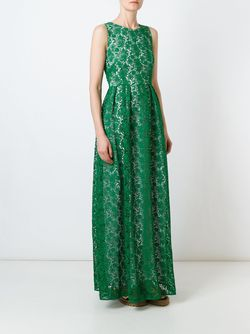 Pansy Dress P.A.R.O.S.H.                                                                                                              зелёный цвет