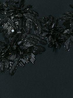 Embellished Fitted Dress Dsquared2                                                                                                              черный цвет