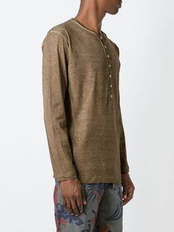 Henley T-Shirt Dsquared2                                                                                                              коричневый цвет