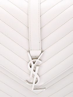 Large Monogram Shoulder Bag Saint Laurent                                                                                                              серый цвет