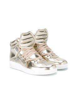 Хайтопы Цвета Металлик Dolce & Gabbana                                                                                                              серебристый цвет