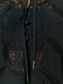 Кружевная Туника Ermanno Scervino                                                                                                              черный цвет