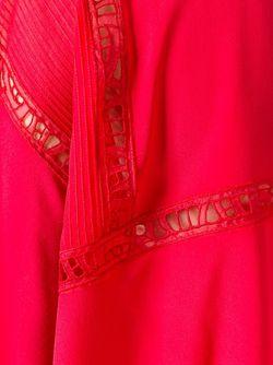 Туника С Ажурными Вставками Ermanno Scervino                                                                                                              розовый цвет