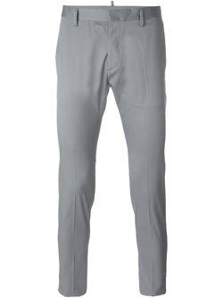 Брюки-Чинос Dsquared2                                                                                                              серый цвет