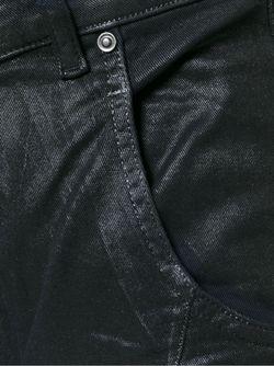 Джинсы Type-147 С Вощеным Покрытием Diesel Black Gold                                                                                                              чёрный цвет