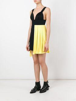 Asymmetric Short Dress Fausto Puglisi                                                                                                              чёрный цвет