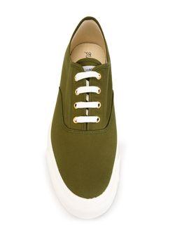 Кеды Со Шнуровкой Maison Kitsune                                                                                                              зелёный цвет