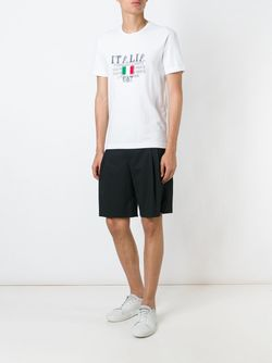 Italy T-Shirt EA7 EMPORIO ARMANI                                                                                                              белый цвет