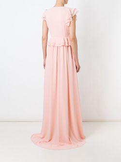 Вечернее Платье С Рюшами MSGM                                                                                                              розовый цвет