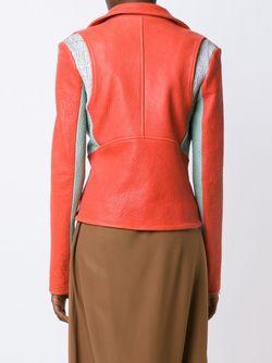 Panelled Biker Jacket DOMINIC LOUIS                                                                                                              красный цвет