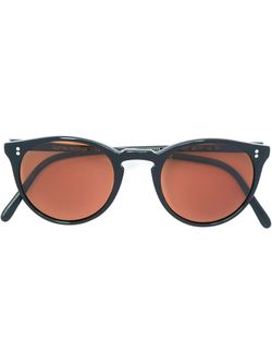 Round Frame Sunglasses The Row                                                                                                              чёрный цвет