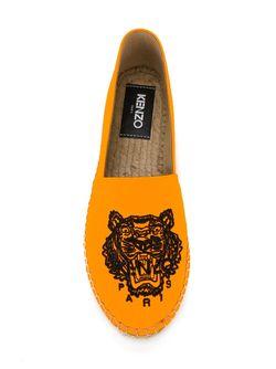 Эспадрильи Tiger Kenzo                                                                                                              желтый цвет