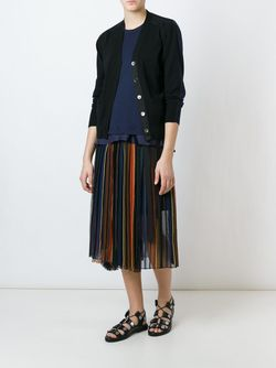 Bi-Colour Cardigan Sacai                                                                                                              чёрный цвет