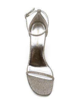 Босоножки Jane Saint Laurent                                                                                                              серый цвет