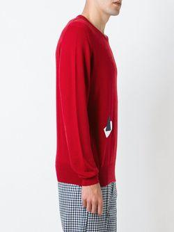 Fine Knit Sweater E. Tautz                                                                                                              красный цвет