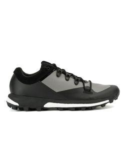 Кроссовки С Панельным Дизайном Y3 X Adidas                                                                                                              черный цвет