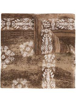 Шарф С Орнаментом Kiton                                                                                                              коричневый цвет