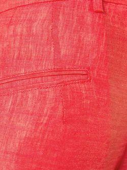 Брюки Прямого Кроя Kiton                                                                                                              красный цвет