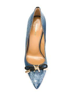 Джинсовые Туфли Babe Wire Dsquared2                                                                                                              синий цвет