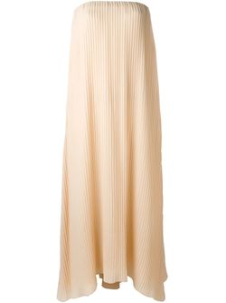 Pleated Strapless Dress DUSAN                                                                                                              Nude & Neutrals цвет