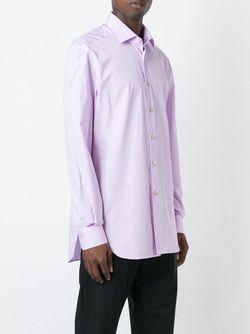 Рубашка На Пуговицах Kiton                                                                                                              розовый цвет