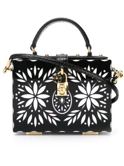Dolce Box Tote Dolce & Gabbana                                                                                                              чёрный цвет