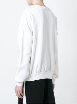 Print Sweatshirt ICEBERG                                                                                                              белый цвет