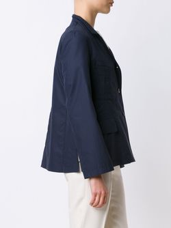 Three Button Jacket Jil Sander                                                                                                              синий цвет