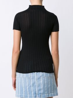 Rib Knit T-Shirt Rag & Bone                                                                                                              черный цвет