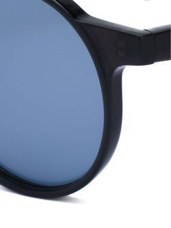 Солнцезащитные Очки С Круглой Оправой Yohji Yamamoto                                                                                                              чёрный цвет