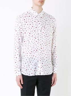 Heart Print Shirt HL HEDDIE LOVU                                                                                                              белый цвет