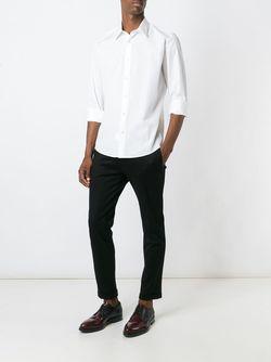 Классическая Рубашка На Пуговицах Tonello                                                                                                              белый цвет