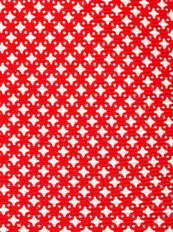 Галстук С Геометрическим Узором Kiton                                                                                                              красный цвет