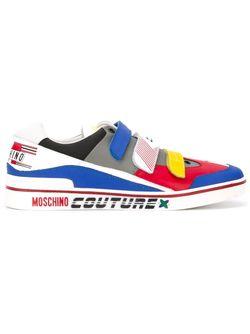 Кроссовки С Панельным Дизайном Moschino                                                                                                              многоцветный цвет