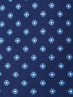 Галстук С Цветочным Узором Kiton                                                                                                              синий цвет