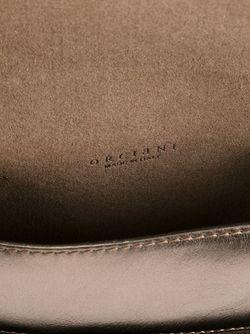 Сумка Через Плечо С Откидным Клапаном Orciani                                                                                                              серебристый цвет