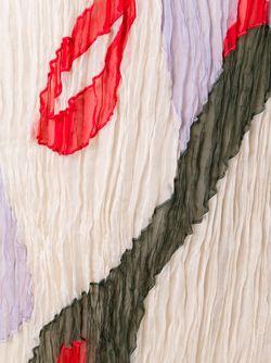 Плиссированное Платье Из Органзы Nina Ricci                                                                                                              многоцветный цвет