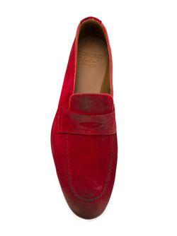 Классические Лоферы-Слипон Doucal's                                                                                                              красный цвет