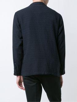 Notched Lapels Jacket Engineered Garments                                                                                                              синий цвет