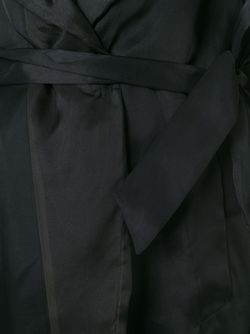 Semi-Sheer Trench Coat Maison Margiela                                                                                                              черный цвет