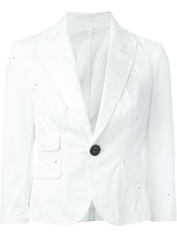 Пиджак С Застежкой На Пуговицу Dsquared2                                                                                                              белый цвет